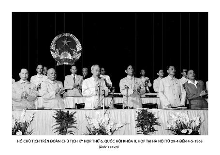 Bac di bau cu QH khoa 2 1963